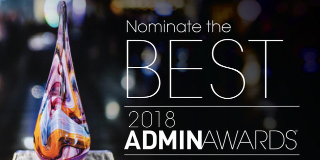 Silicon Valley Admin Awards