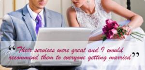 JP Graphics wedding testimonial