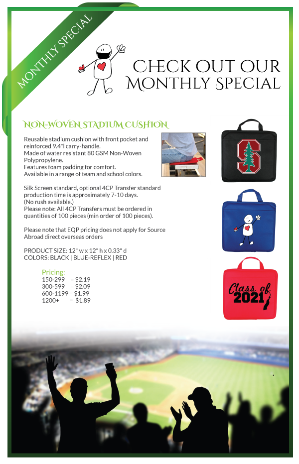 branded seat cushions sports