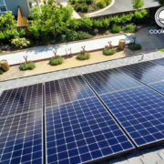 Cool Earth Solar roof panels at JP Graphics