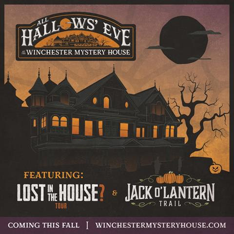 Winchester Mystery House Halloween Event